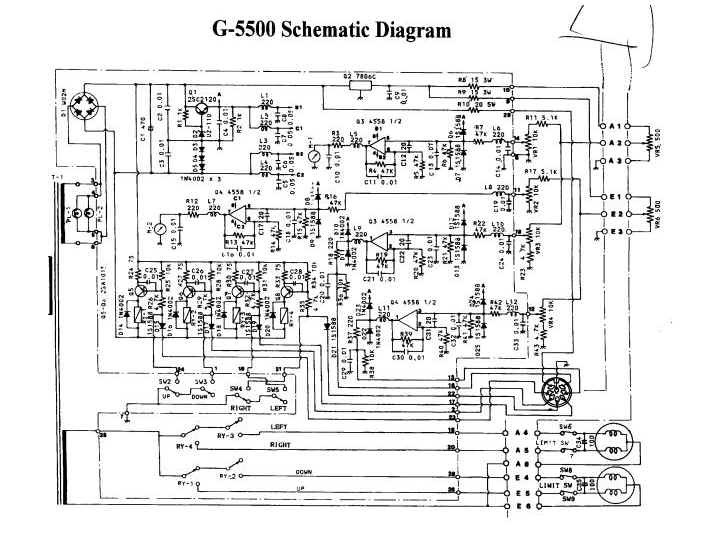 schematic kd4app g5500 page Yaesu G-450A at n-0.co